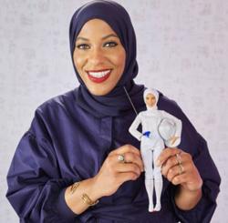 Mattel lance sa première Barbie voilée, Ibithaj Muhammad pour icône