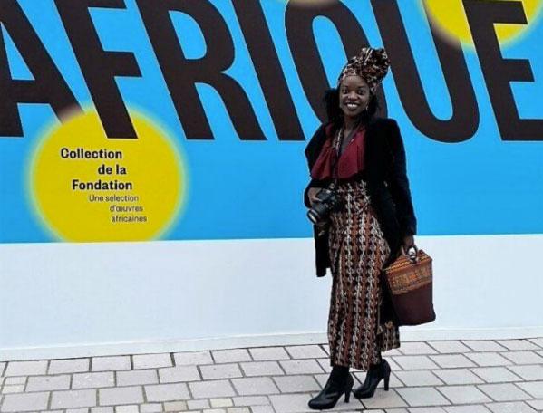 Ancienne journaliste ayant dû fuir le Rwanda, Lucie Rwakana Umukundwa s'est exilée en France en 2006. Pour rebondir économiquement, elle est a créé une start-up dédiée à l'art africain. (Photo© Lucie Rwakana Umukundwa)