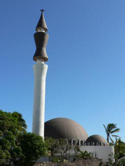 Mosquée Atyaboul Massajid, à Saint-Pierre, île de La Réunion