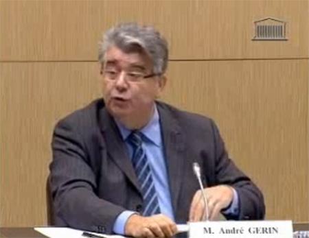 André Gerin a présidé la mission parlementaire sur le voile intégral.