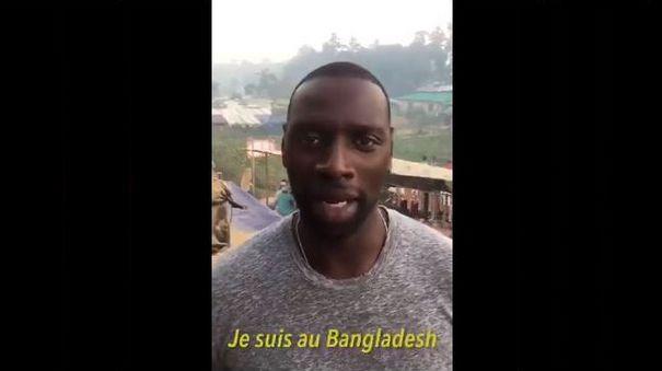 #LoveArmyForRohingyas : Omar Sy appelle à soutenir la cause des Rohingyas (vidéo)