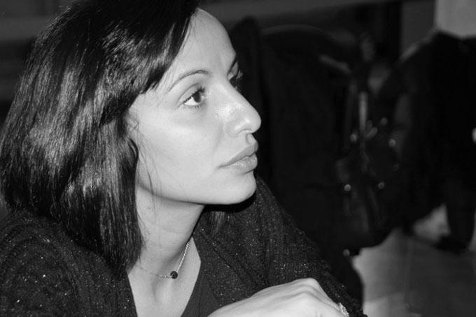 Nadia Hathroubi-Safsaf : « Je pense que dans les années à venir il va y avoir de plus en plus de livres autour du conflit israélo-palestinien. » (photo © Marie Géniès)