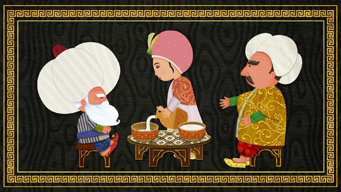 Illustration « Nasreddine Hodja ». (photo © Marjorie Vial)
