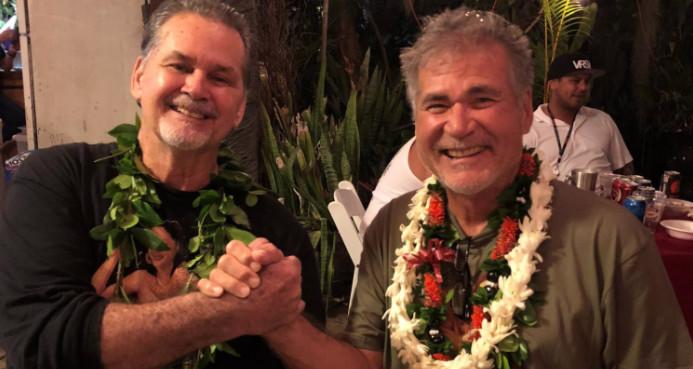 Walter McFarlane et Alan Robinson, amis depuis 60 ans, ont récemment découvert qu'ils sont demi-frères.