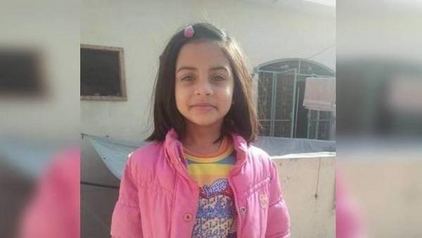 Selon les autorités pakistanaises, Zainab (ici à l'image) est la 12e enfant attaquée en deux ans dans un rayon de 2 kilomètres dans la ville de Kasur, frontalière avec l'Inde.