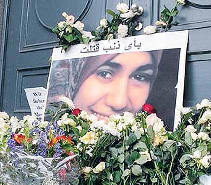 Marwa el-Sherbini a été assassinée en pleine audience du tribunal de Dresde (Allemagne, le 1er juillet 2009.