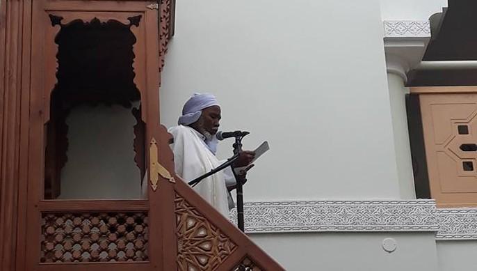 Mohamed Berradi, ici à l'image, est le nouveau recteur de la Grande Mosquée de Clermont-Ferrand depuis le 2 février. Il succède ainsi à Hocine Mahdjoub, décédé en octobre 2017. © Mosquée de Clermont