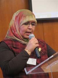 Mehrézia Labidi-Maïza est coordinatrice de Femmes croyantes pour la paix.