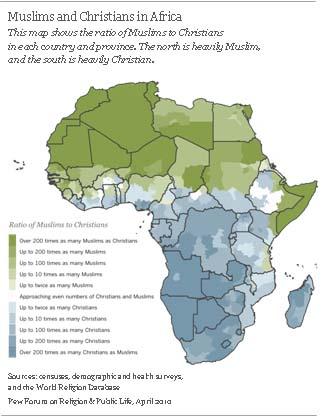 L'Afrique, plus monothéiste que jamais