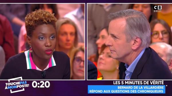Voile, islam, islamophobie… Bernard de la Villardière clashé sur TPMP (vidéo)