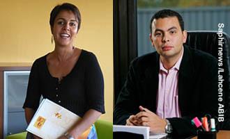 Nedjma Boutlelis et Aziz Senni, entrepreneurs engagés.