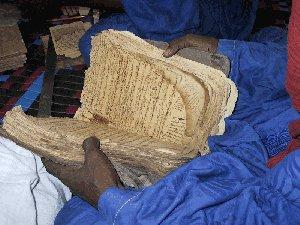 (Photo : Alida Jay Boye. Timbuktu Manuscripts Project. Université d'Oslo)
