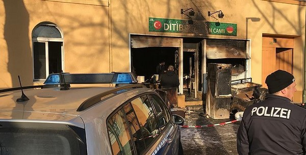 Une mosquée de Berlin appartenant au DITIB a été attaquée dans la matinée du samedi 10 mars.