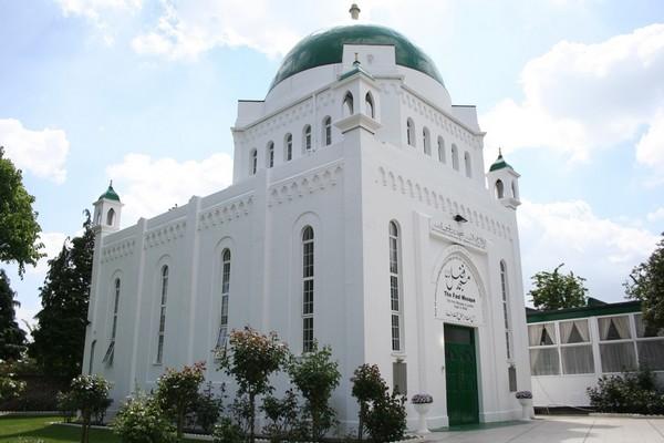 La mosquée Fazl est la première construite à Londres en 1926 et la seconde en Grande-Bretagne. © Architects Journal