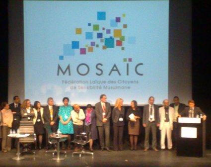 L'Institut du monde arabe a accueilli le deuxième colloque de la Fédération laïque des citoyens de sensibilité musulmane (Mosaïc), le 5 mai.