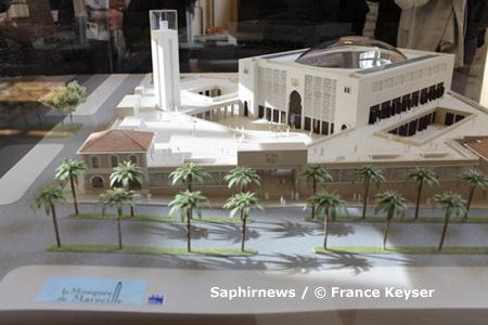 Grande Mosquée de Marseille. Budget prévu : jusqu'à 300 000 €. Date de livraison prévue : horizon 2012.
