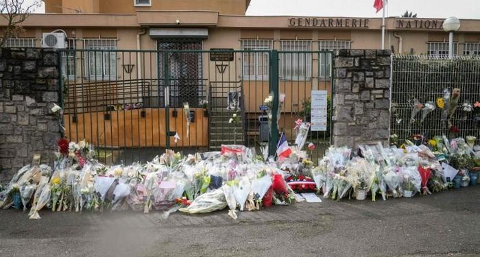 Un hommage national sera rendu au gendarme Arnaud Beltrame. Il figure parmi les quatre victimes des attentats dans l'Aube perpétrés vendredi 13 mars. © AFP
