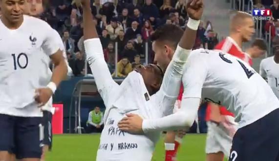 Comment Paul Pogba rend hommage à son défunt père en plein match (vidéo)