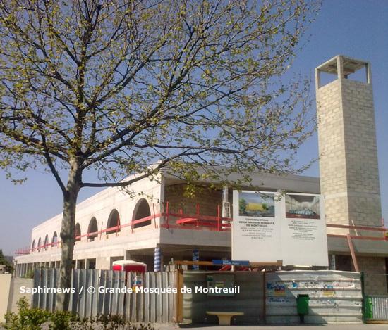 Trois ans et demi après la pose de la première pierre, les Montreuillois ont enfin pu voir le bâtiment érigé de la Grande Mosquée de Montreuil, dimanche 27 juin. Coût du projet : 2 350 000 euros.