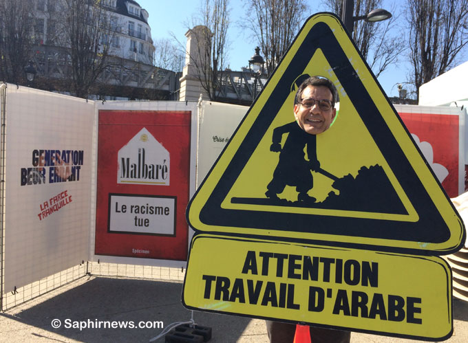 Attention, travail d'Arabe : l'ouvrage humori...