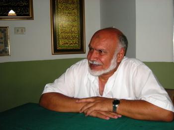 M. Amer, imam de la mosquée de Santa Cruz (© 2010 Sarah Burkhalter).