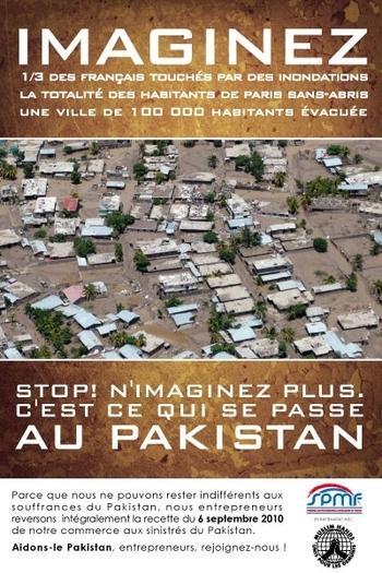 SPMF Opération de solidarité : Pakistan 2010
