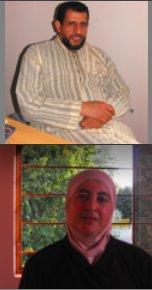 Moulay El Hassan El Alaoui Talibi, premier aumônier musulman national français, et son épouse, Soumia El Alaoui, apportent leur aide aux prisonniers de culture musulmane, dans la région Nord.