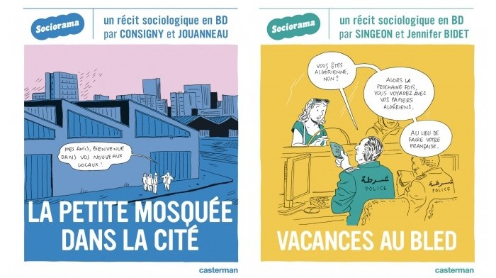 Les vacances au bled et la vie d'une mosquée de quartier racontées en BD