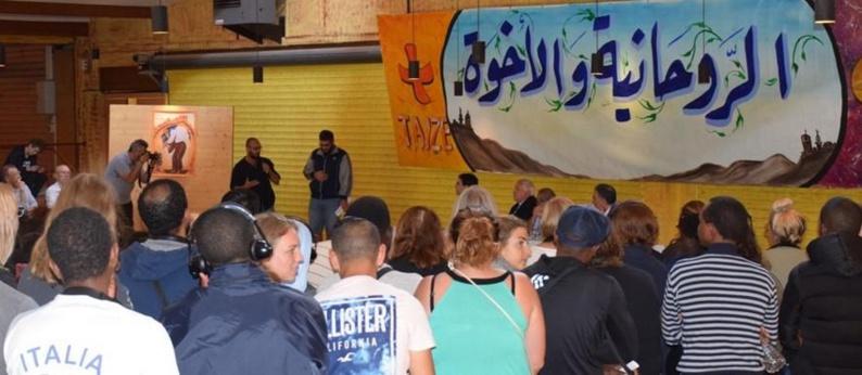 Du 5 au 8 juillet, la communauté œcuménique de Taizé, organise la seconde édition du weekend d'amitié entre jeunes chrétiens et musulmans. © Chloé Barbaux
