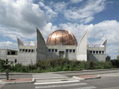 La Grande Mosquée de Strasbourg, actuellement en cours de construction.