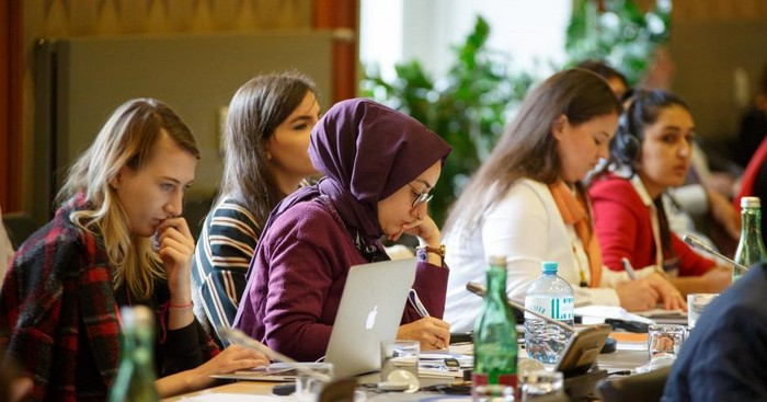 A l'image, une conférence contre l'intolérance et les discriminations contre les musulmans, organisée par l'OSCE et l'Université de Georgetown, s'est tenu à Vienne en octobre 2017.  © OSCE/Salko Agovic