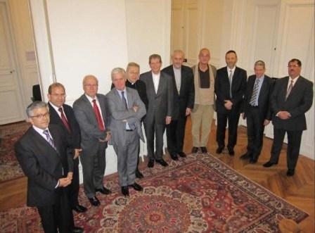 La Conférence pour les représentants des cultes en France a été inauguée mardi en présence des principaux responsables des cultes.
