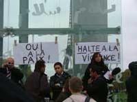 Rassemblement du collectif le 11 novembre 2005