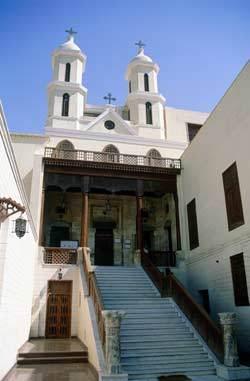 Église copte, en Égypte.