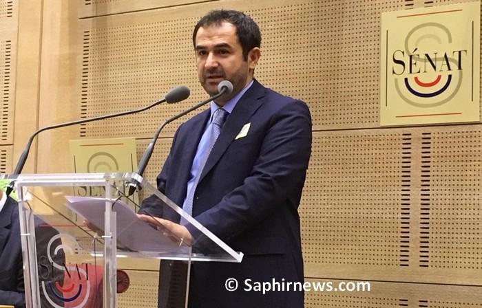 Le président du Conseil français du culte musulman (CFCM) Ahmet Ogras a prononcé le discours inaugural lors du colloque organisé par l'instance vendredi 21 septembre au Sénat.