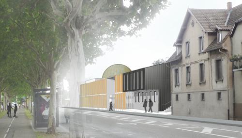Deux terrains sont octroyés par la mairie pour la construction de mosquées de proximité : l'une dans le quartier de Robertsau (photo) ; l'autre dans le quartier Hautepierre.