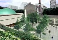 Vue sur le projet de reconstruction de la mosquée Adda'wa
