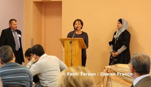 Pour Nathalie Griesbeck, députée européen, le rapprochement des associations musulmanes de Metz est la condition du succès pour la future mosquée.