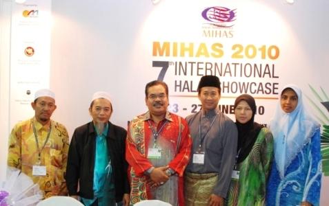 Le MIHAS (Malaysia International Halal Showcase) se tiendra cette année en avril et non en juin comme en 2010.