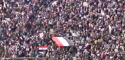 « Marche du million », au Caire, le 1er février.