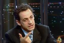 Nicolas Sarkozy sur Al-Jazira