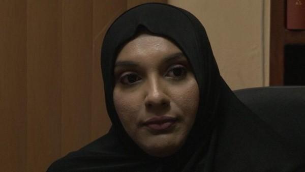 A Trinidad-et-Tobago, les policières de confession musulmane peuvent dorénavant porter un voile (hijab) pendant leurs heures de service après la victoire judiciaire de Sharon Roop (ici à l'image) vendredi 9 novembre.