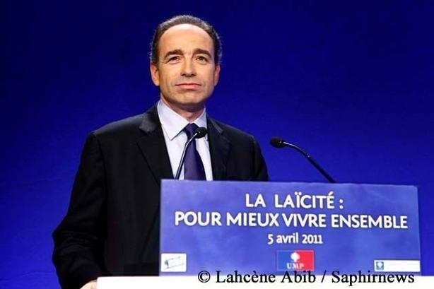Jean-François Copé, secrétaire général de l'UMP, a présidé la convention de l'UMP sur la laïcité et l'islam le 5 avril.