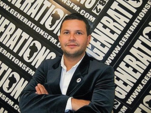 Le directeur de Générations 88,2, Bruno Laforestrie.