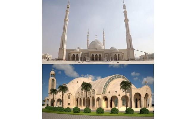 Egypte : les plus grandes église et mosquée inaugurées la veille du Noël orthodoxe