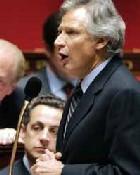 M Villepin veut que la France contrôle son immigration