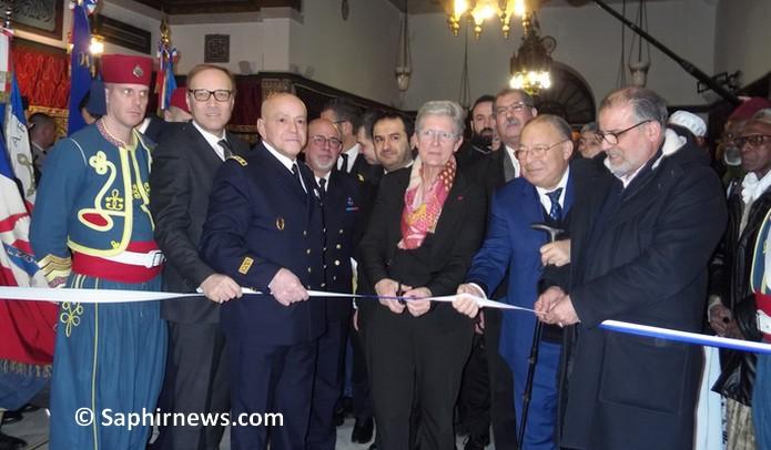 A la Mosquée de Paris, une exposition hommage aux soldats musulmans morts pour la France inaugurée