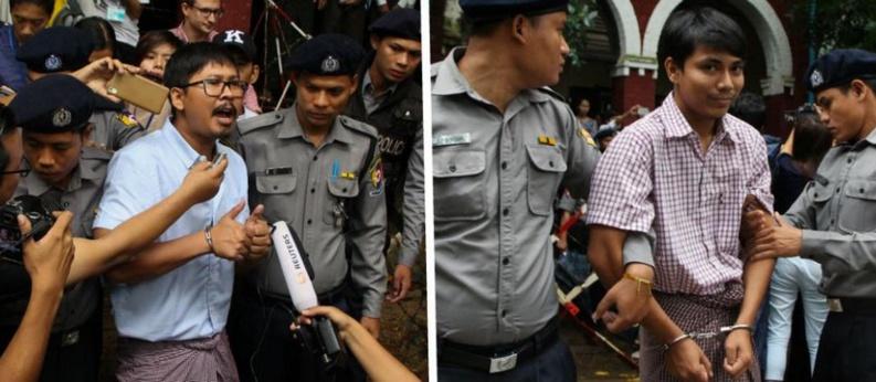 Rohingyas en Birmanie : les deux journalistes de Reuters condamnés en appel