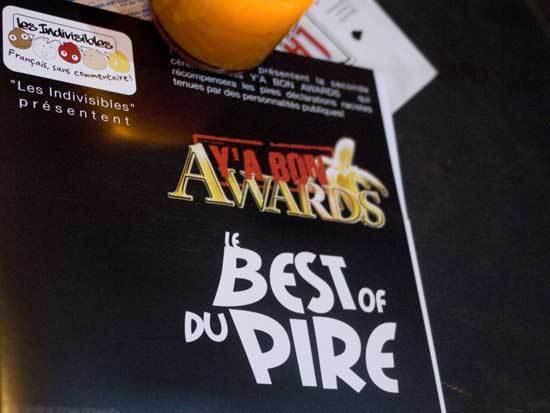 Les auteurs de propos racistes de l'année seront « recompensés » aux Y'a Bon Awards, qui se dérouleriont le 23 mai prochain au Cabaret Sauvage.