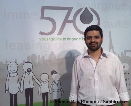 Anass Patel souhaite rendre accessible la finance islamique en France grâce à 570 easi.